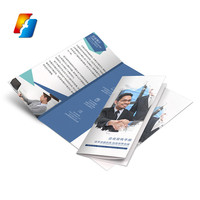 Factory custom full color company profile book cheap catalogue leaflet brochure pamphlet poster printing
