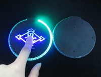 table decoration accessories led mats and pads