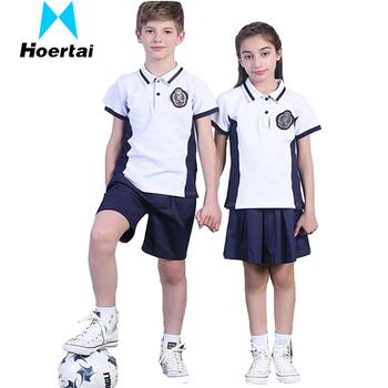 Asian girls uniform