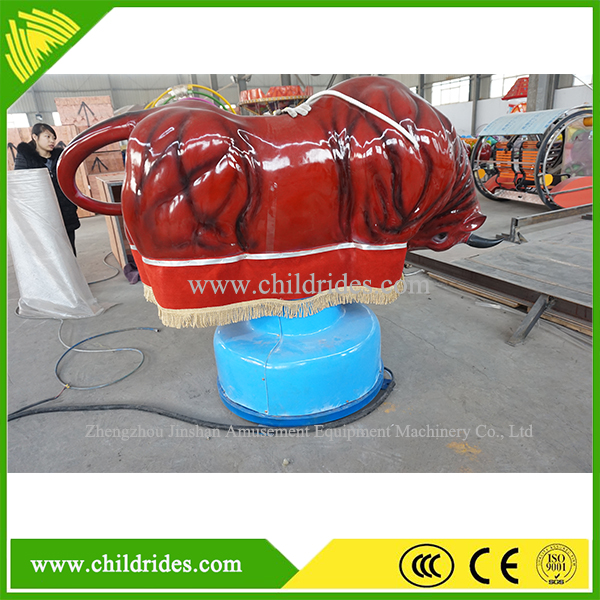 Amusement ride for sale ! high quality inflatable bull rodeo simulator for sale