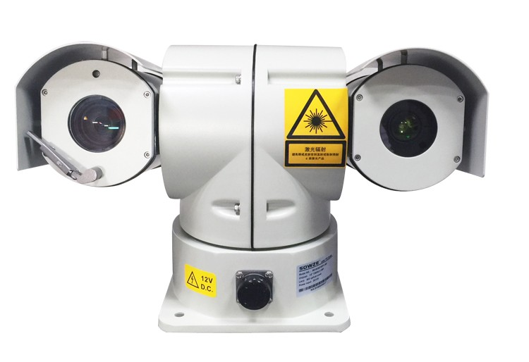 IP PTZ Camera 300m Night Visison Vehicle 20x Optical Zoom 2.0MP Chinese CMOS HD IP 3W Laser PTZ Camera