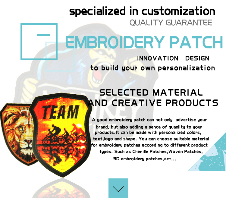 Chenille Patch Design For Suit Custom Personal Embroidery Patch Iron On Sew On Patch Embroider