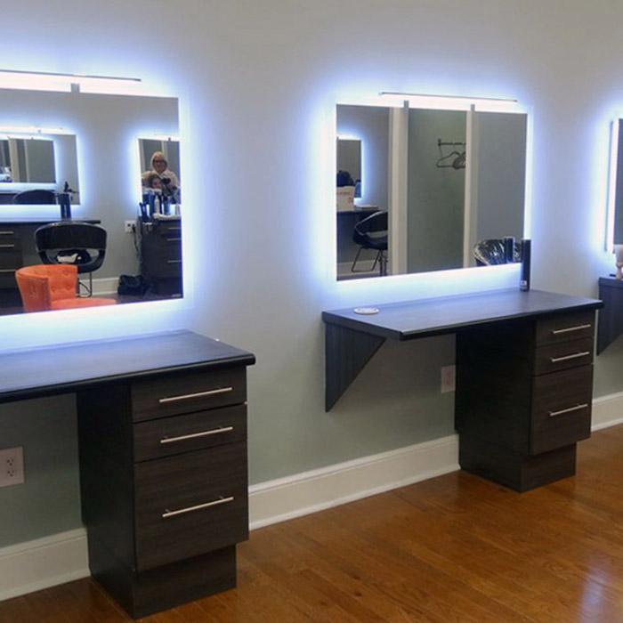 Moderno Cuarto De Baño Espejo Inteligente Para El Salón De Pelo Salón De  Los Espejos - Buy Estación De Salón Espejo Para Salón De Belleza,Espejo ...