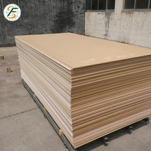 Trade assurance 18mm Plain MDF Board price for furniture