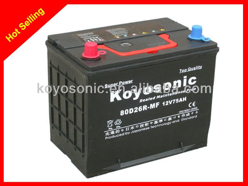 80d26r Mf Car Battery