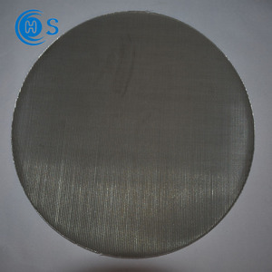 Best sellers stainless steel wire mesh screen filter discs