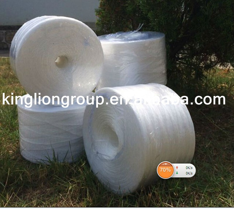 recycled polyester and nylon plastic twine