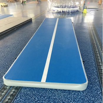 customized color and size tumbling mats track inflatable air mat for gymnastics
