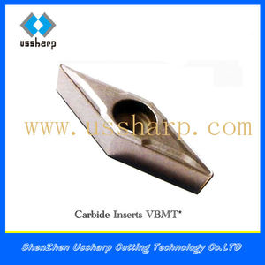 CNC Machine Cutting Tool Inserts made in China VBMT/ Collar Inserts