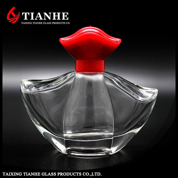 Tianhe durable customized Sprayer Tube Length 146.8mm glass car perfume bottle