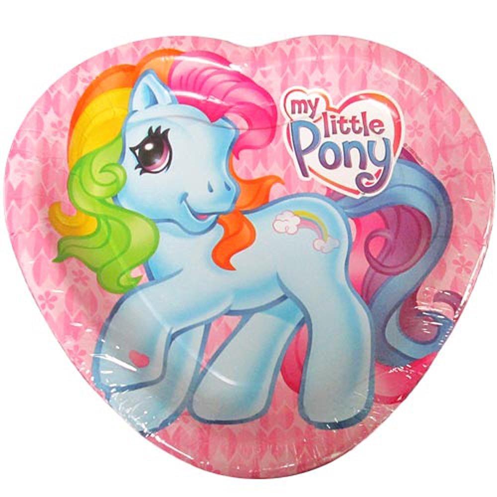 My Little Pony Sunny Daze Large Heart Shaped Paper Plates (8ct)*
