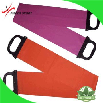 Gym latex stretch resistance band handles