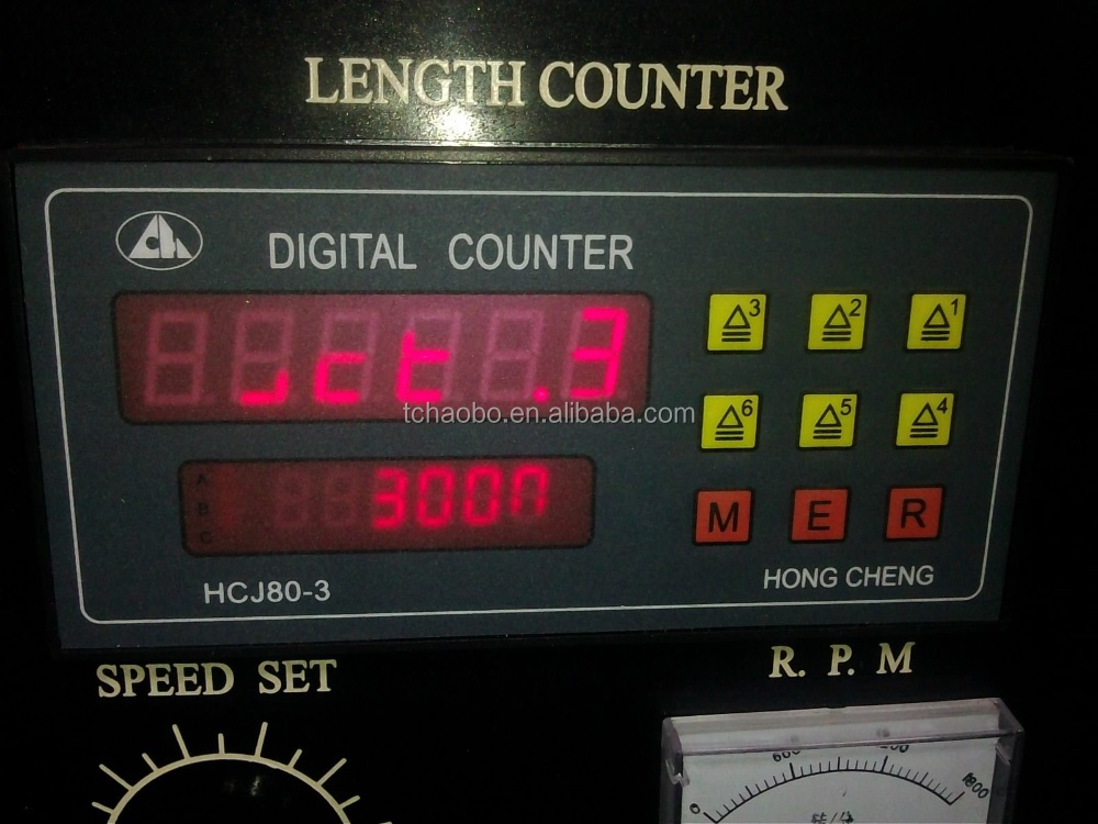 digital length counter meter,slitting machine length counter,rewinder length caculater
