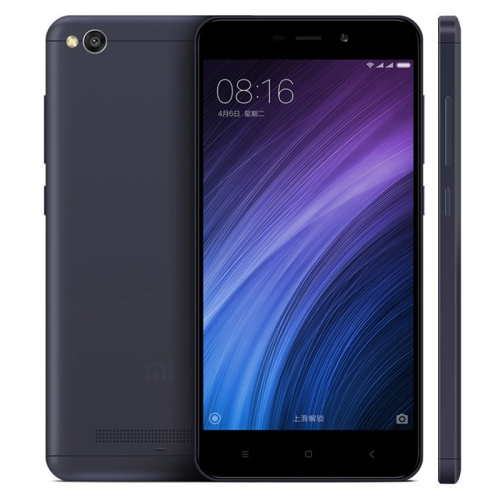 Xiaomi Redmi 4A Mobile phone, 2GB+16GB, Infrared Remote, 5.0 inch MIUI 8, Snapdragon 425 Quad Core up to 1.4GHz Cellphone