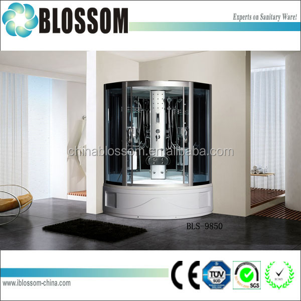 nice design tiling fully enclosed shower cubicles small bathrooms