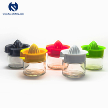 Custom Color Plastic Lemon Squeezer With Glass Container