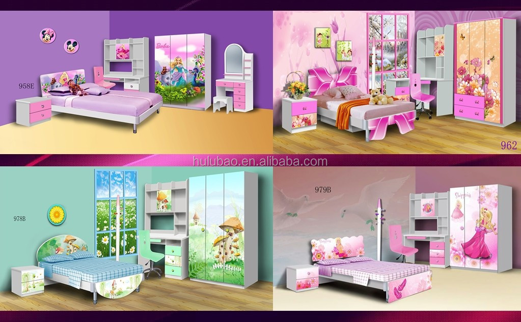 Adult Sized Baby Room Bed For 6-15 Years Old Children 901a