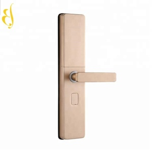 2018 New Products Mobile Phone Remote Control Smart Door Lock Fingerprint Safe Use APP/ Finger/Card/Code/Key To Open The Door