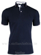 100% COTTON SHORT SLEEVE POLO T-SHIRT