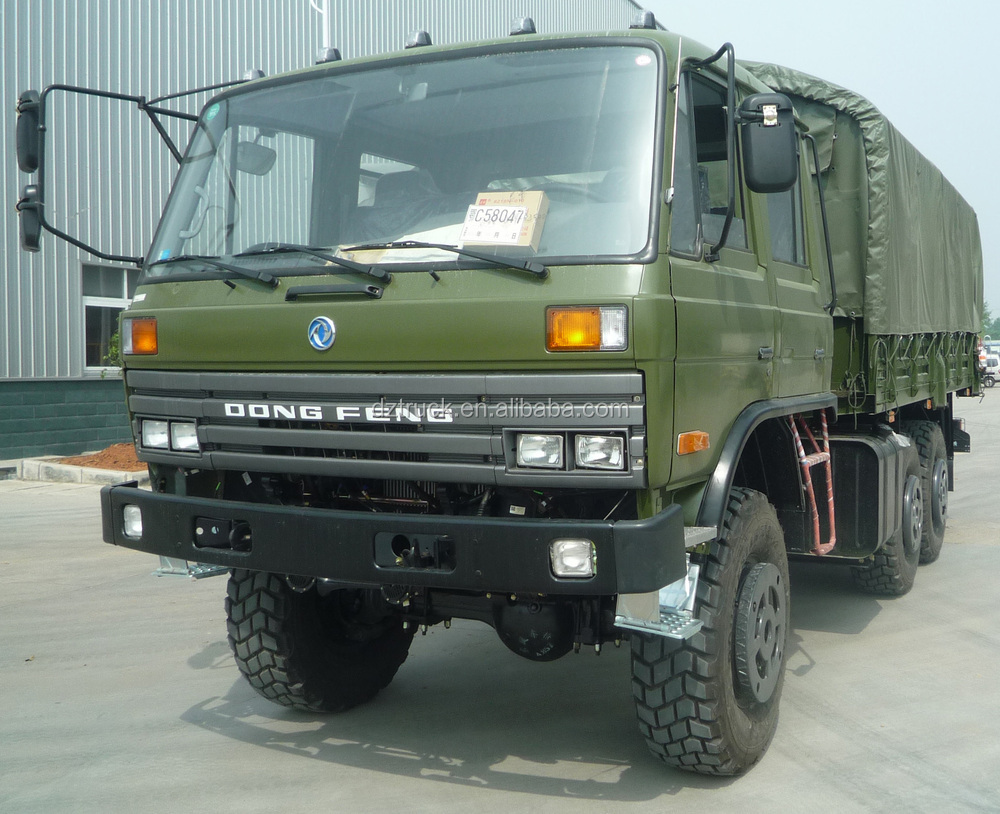 Dongfeng 6x6 Camiones Militares - Buy Camiones Militares Product on ...