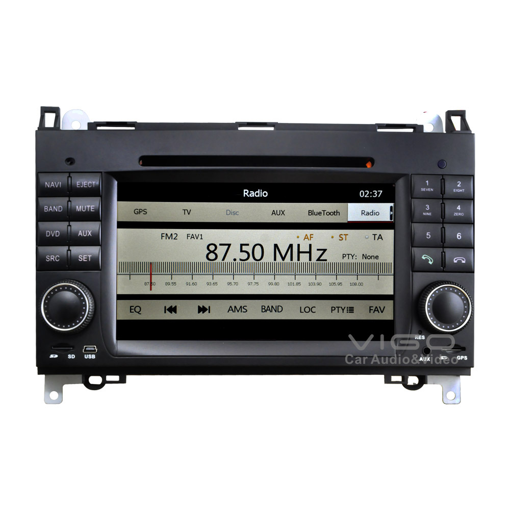 car stereo gps navigation for mercedes benz a b class viano vito sprinter radio multimedia. Black Bedroom Furniture Sets. Home Design Ideas