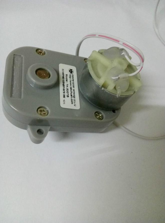 Toepassing in horloge winder 3 v DC motorreductor met lage rpm 8 rpm TK-500TB