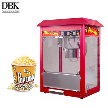 DBK commercial electric popcorn maker snack making machine/popcorn making machine