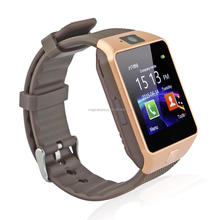 top sales product bluetooth/camera/dual sim watch mobile phone smart watch dz 09