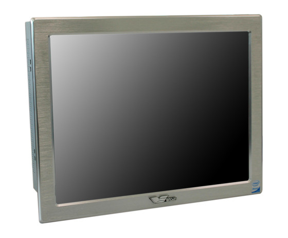 Wecon 12.1 inch industrial panel pc touch with windows xp