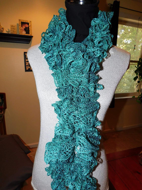 Cheap Crochet Ruffle Scarf, find Crochet Ruffle Scarf deals on line