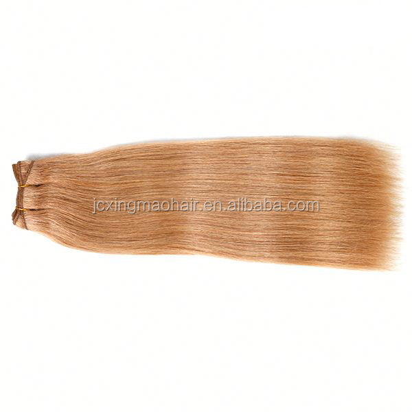 High Quality Brazilian Sew In Human Hair Extensions Strawberry