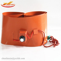 Electric Heating 120V Silicone Rubber Heater drum Bed