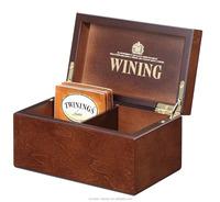 Compact & Refinement Wooden Tea Boxes