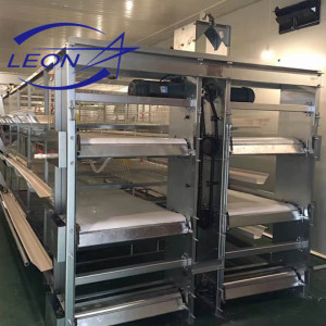 Leon series hot sale layer egg chicken cage/poultry farm cage system
