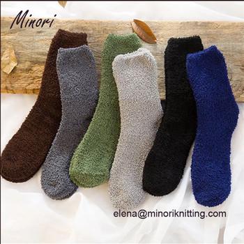 really cheap quality products release info on 2017 Minori New Arrival Amazon Supplier Anti Slip Middle Calf Fuzzy Socks  With Slipper Crew Cozy Socks - Buy Adult Anti Slip Sock,Warm Fuzzy ...