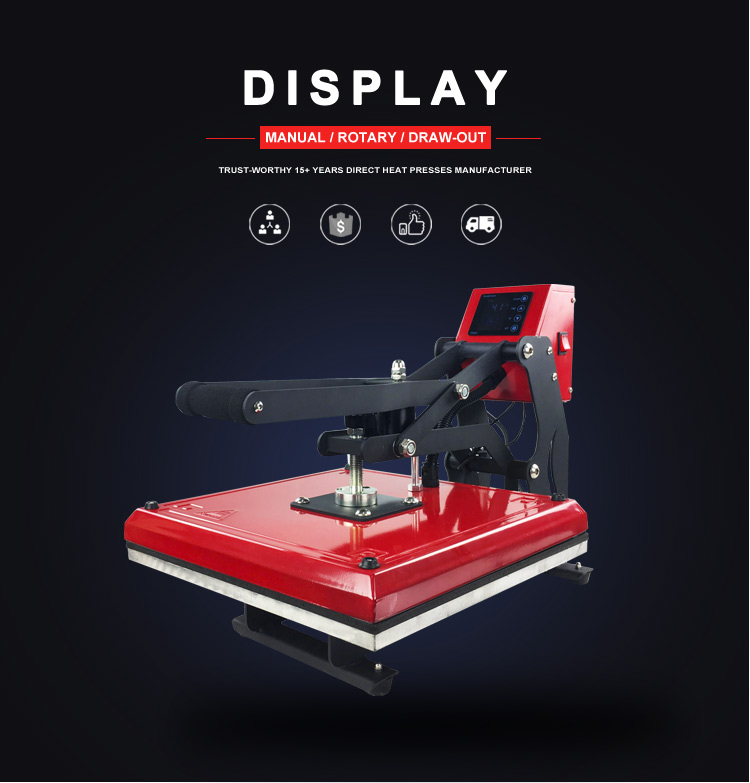 2018 Hot Selling XINHONG Automatic screen sublimation t-shirt printing machine t shirt heat press