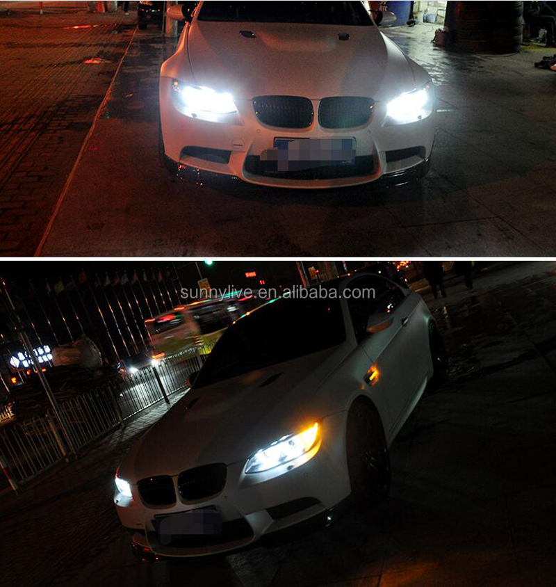 2006-2012 year For BMW M3 E92 E93 335i 330i LED Headlights For AFS version