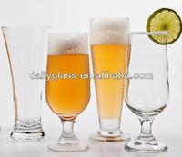 customer design hot sell clear glassware