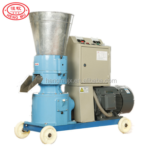 CE certificated Bio fuel wood sawdust home pelletizer