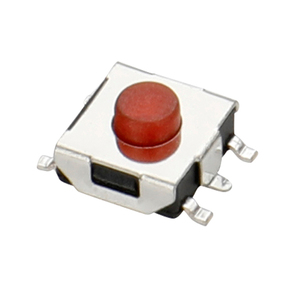 2019 Factory direct sales 12V50mA tact switch 5Pin stainless steel push  button switch