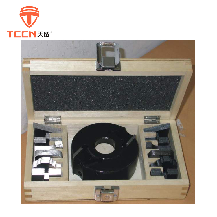 TCCN Best Selling Products Black 100mm Profile Planer Cutter Head For Wooden Door