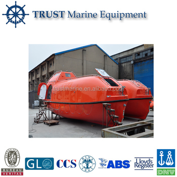 Hot Sale Marine F.r.p Totally Enclosed Type Lifeboat