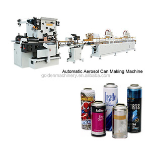 Automatic Aerosol Can making machine /Spray Paint Aerosol Tin Can Making Line/Air Fresher Can Production Line