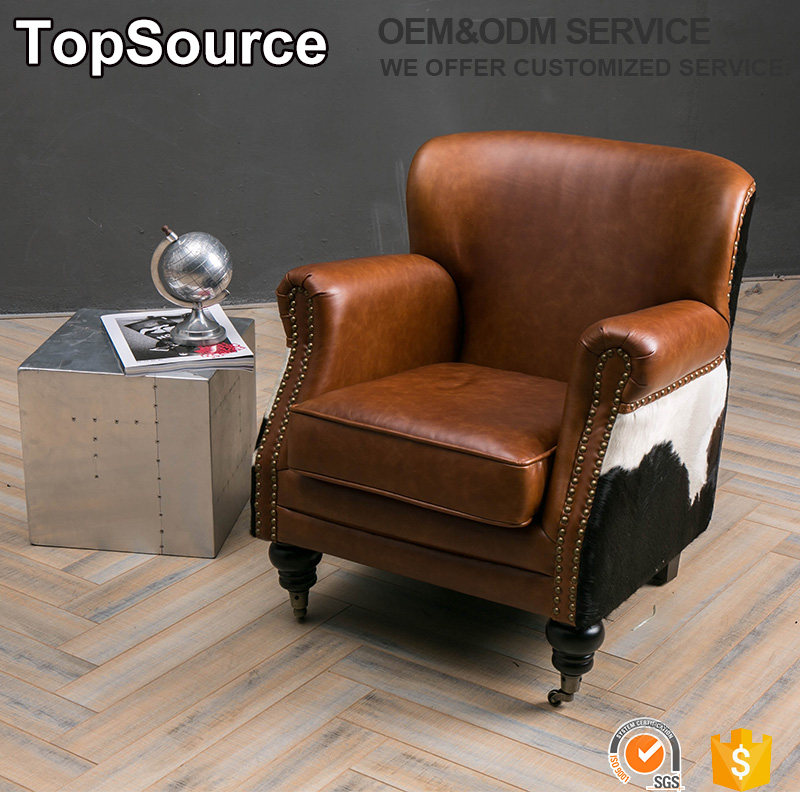 Incredible Back Cow Hide Vintage Leather Chair Wheels Chairs View Furniture Chair Restaurant Topsource Product Details From Foshan Jingying Furniture Company Alphanode Cool Chair Designs And Ideas Alphanodeonline