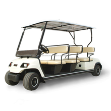 6 seater battery/gas powered golf cart,electric golf club car with CE approved for sale