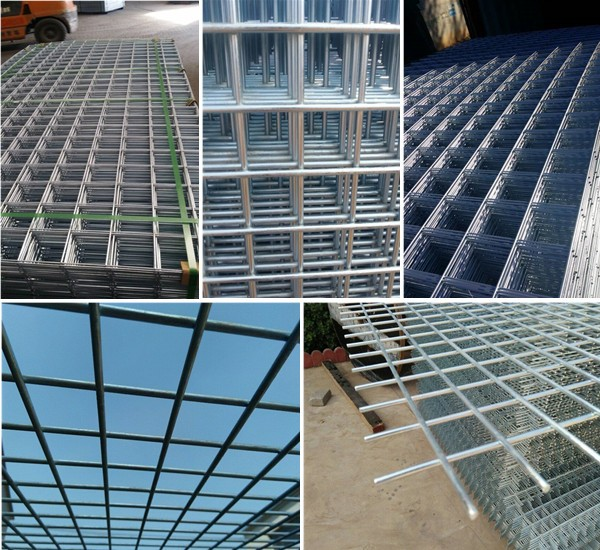 Concrete Fence Plate Prices/welded Wire Mesh Sheets/welded Wire Mesh ...
