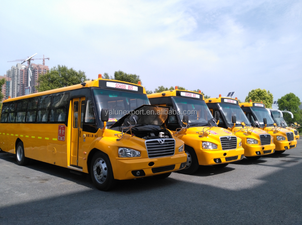 School bus for sale 30 seats high quality school bus low price