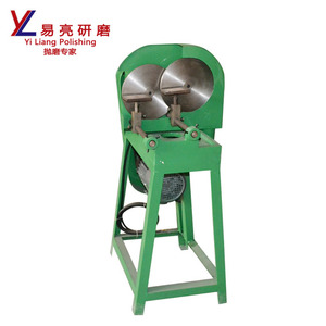 Double plate sanding paper abrasive machine Double disc sand paper machine
