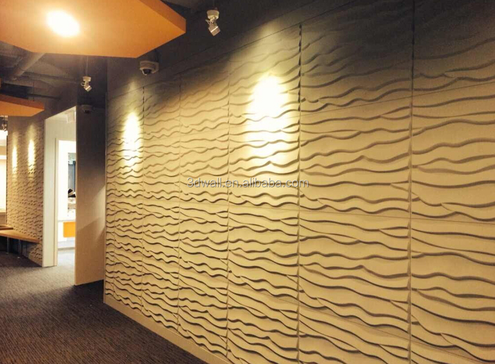 Paintable Project Interior Beautiful 3d Sandwich Panel