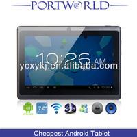 Q88 Allwinner A13 Cheap Tablets